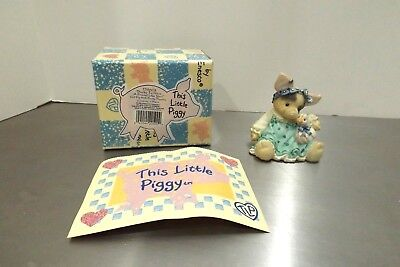 """Enesco This Little Piggy - """"Ducky To Have A Friend Like You"""" #159603 1995"""