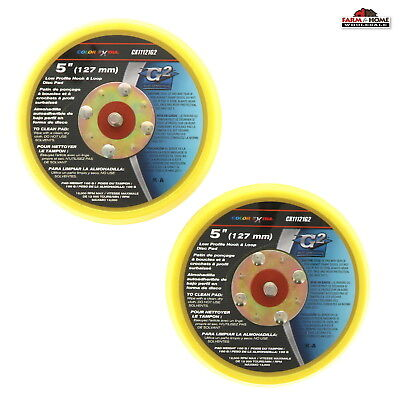 "(2) 5"" Balanced Sanding Disc Pad ~ New"