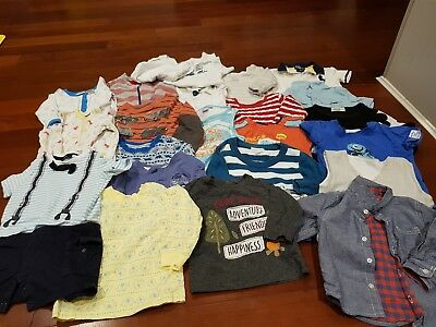 Preloved bulk boys clothing mixed size from 6 months to 2