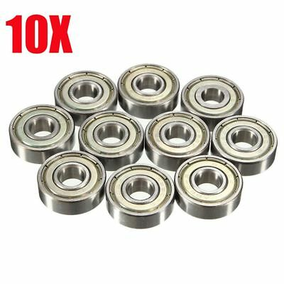 10Pcs/set 8x22x7mm Ceramic Ball Bearings Deep Groove 608zz Toy Accessories
