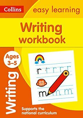 Writing Workbook Ages 3-5: New Editi by Collins Easy Learning New Paperback Book