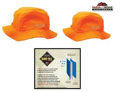 Gore-Tex Bucket Hat ~ Blaze Orange ~ M/L or L/XL ~ New