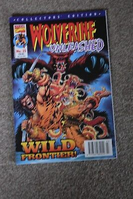 marvel collectors edition  Wolverine Unleashed no 35 Panini