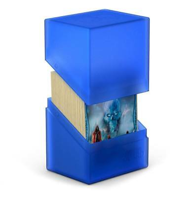 Ultimate Guard - Boulder Deck Case 80+ Sapphire - Gaming Card Box for Archive