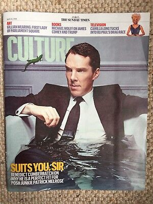 Sunday Times Culture Magazine New Benedict Cumberbatch Cover New