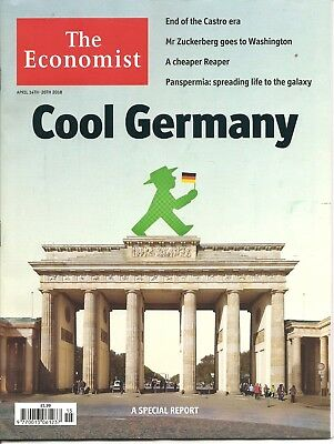 The Economist 14th - 20th April 2018 Economics & Current Affairs Weekly