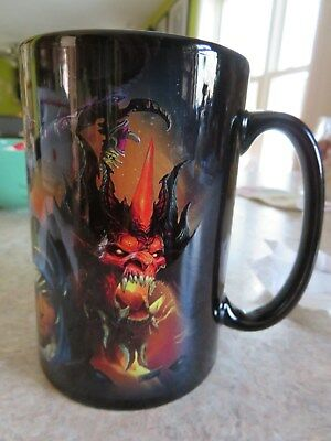 Blizzcon 2016 Key Art Mug Cup World of Warcraft, Hearthstone, Heroes of Storm
