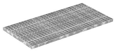 grating industrial rust 500x1000 mm 30/30 mm 30/2 mm Galvanized
