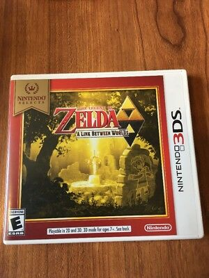 The Legend of Zelda A Link Between Worlds Nintendo 3DS, 2013 Adult Owned Selects