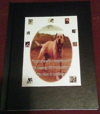 Crenshaw Honeybunch, Legacy of Production Pit Bull Hardback book