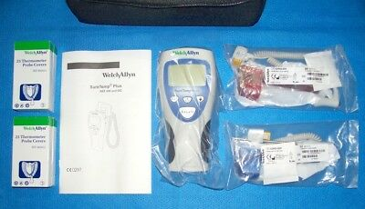 Welch Allyn SureTemp Plus 692; Oral And Rectal Electronic Thermometer Kit; New