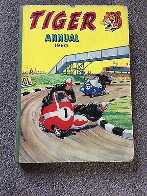 The TIGER 1960 ANNUAL ROY OF THE ROVERS