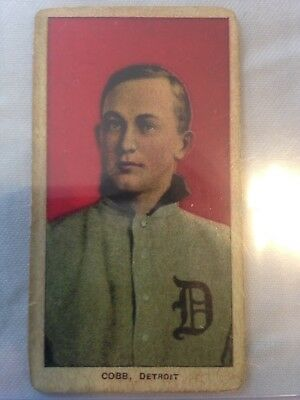 Ty Cobb T206 (1909-1911) Piedmont Baseball Series 150 Subjects Factory No.25.24