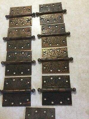 vintage cast iron door hardware Hinges