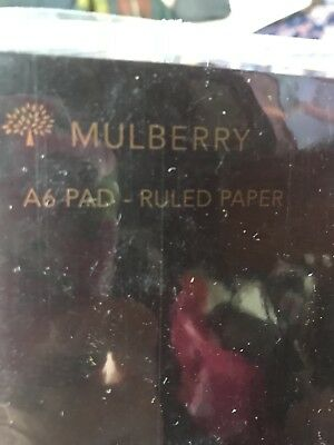 Mulberry A6 Lined Note Paper