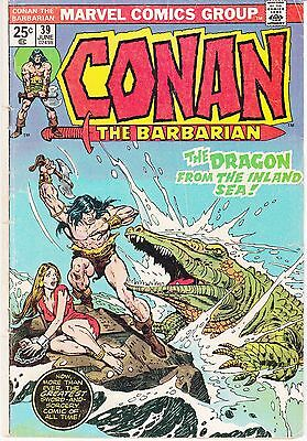 Conan The Barbarian  #39 1974 -Dragon From Inland Sea, Sword & Sorcery..vg-