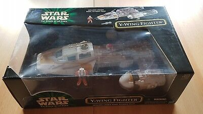 Star Wars Hasbro The Power of the force POTF Y Wing  Neu in OVP