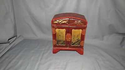 A CHARMING EARLY 20th CENTURY JAPANESE JEWELLERY BOX