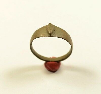 MEDIEVAL Bronze Ring - WEARABLE ARTIFACT - CLEANED / WELL PRESERVED