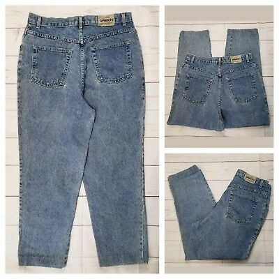 """Vintage Sasson Jeans 38 Classic Hish Rise Hemmed to 27"""" Inseam 100% Cotton"""