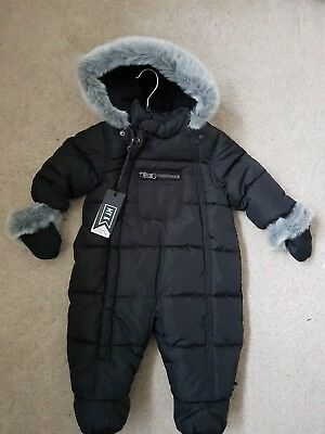🙂BNWT MY K Mothercare Baby Snowsuit 3-6 Months