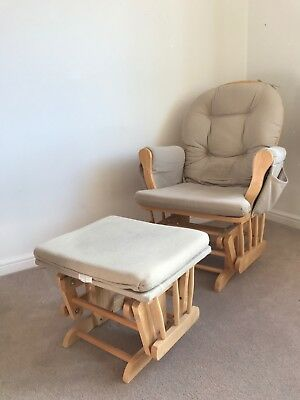 Used Hauck Nursery Chair with footstool