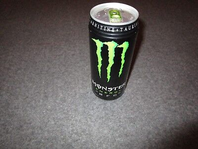 RIBBED !!!Monster Energy BFC 32oz FULL Rare DISCONTINUED PERFECT CAN!!