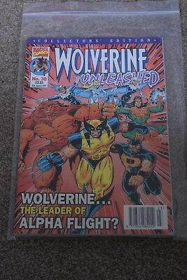 marvel collectors edition  Wolverine Unleashed no 30  Panini