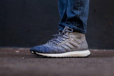 f96fb4819 Adidas Ultra Boost ATR All Terrain size 13. BB6128 Grey Indigo Blue  Primeknit.