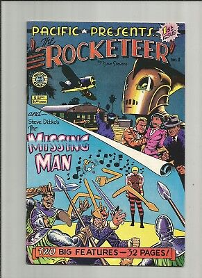 Pacific Presents 1 1982 Rocketeer Betty Bettie Page Pacific Comics
