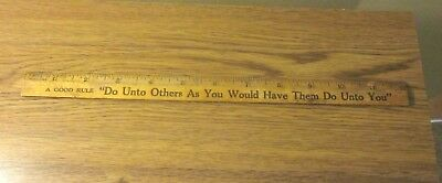 """Vintage Coca-Cola Ruler Good Rule """"do Unto Others"""" L@@k *free Shipping*"""