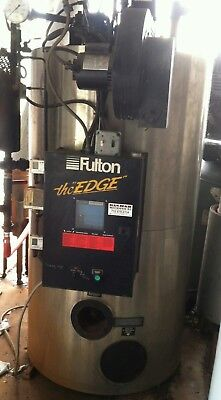 2006 Fulton Edge 20 HP Fuel Fired Steam Boiler