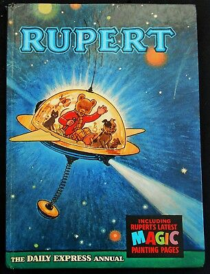 Vintage Original 1966 Rupert Bear Annual, Price Unclipped 6/-