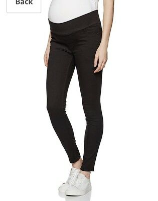 Ladies Maternity Under Bump Black Jeggings BNWT Sz 16