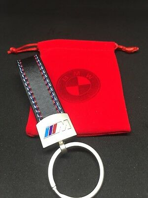 2018 Design BMW Keyring M Sport Tech Fob Metal Ring Series 1 3 5 With Gift Bag