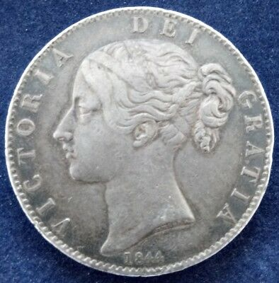 Victoria 1844  .925 sterling silver crown