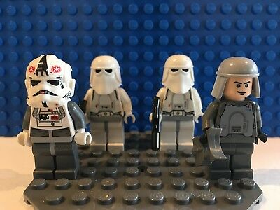 LEGO Star Wars Hoth Snowtrooper Battle Pack Minifigure Lot 8084 Veers, AT-AT