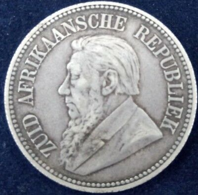 South Africa .925 sterling silver Half-crown coin
