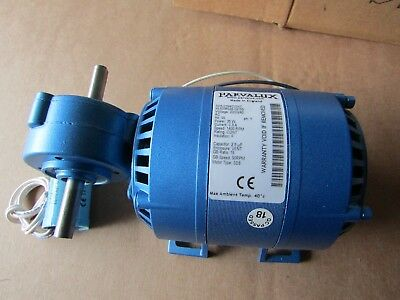 Parvalux SD8 Induction AC Geared Motor, Reversible, 220-240V, 90 rpm Parv 717398