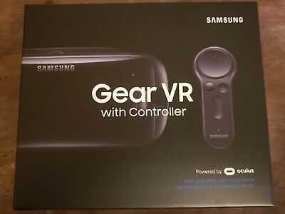 NEW Samsung Gear VR Virtual Reality Headset with Controller Galaxy Note 8 s8 s9