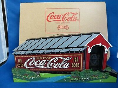 Shelia's COCA COLA - Covered Bridge - Autographed by Sheila in 1999