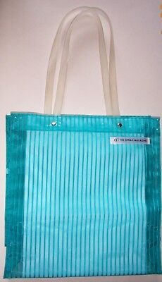 The OPRAH Magazine tote bag turquoise advertising promo collectible