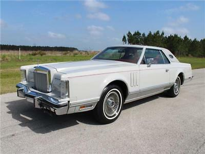 Mark Series Continental 1979 Lincoln Continental Mark V Red Rose Luxury Group