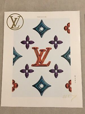 """LOUIS VUITTON 2017 LV """"The Book"""", Holiday Edition  #7 With Stickers"""
