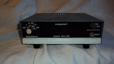 Vintage Redco RFC-250 Frequency counter HAM CB radio untested
