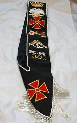 30th Degree Sash  (Free Delivery)