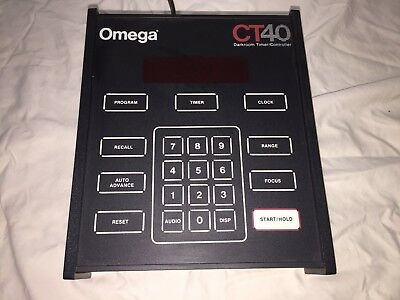 Omega CT40 Darkroom Timer/ Controller - with original instruction manual