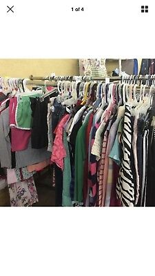 50 piece Lot-Wholesale Mixed Lot of KIDS Clothing for Resale variety of sizes