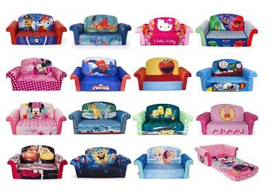 Sofa Kids Bed Flip Open Chair Fold Out Couch Lounger Children Toddler  Furniture