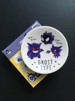 Ichiban Kuji Pokemon Research Gengar Ghost Type Small Plate Prize C